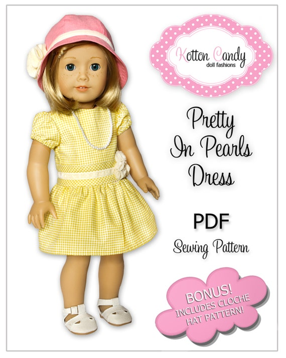 American Girl Sewing Pattern PDF Doll Clothes Epattern | Etsy