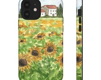 Tuscany Sunflowers Phone Case