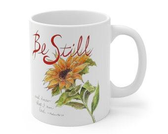 Be Still Ceramic Mug 11oz