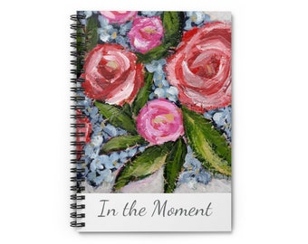 In the Moment Spiral Journal Notebook