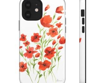 Poppies Phone Case