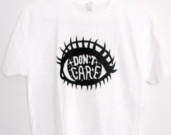 EYE DON'T CARE T-shirt - Eyeballshirt, eye shirt, sparkle, cute, kawaii