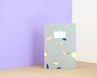 Terrazzo notebook - A5 - 64 Pages Ruled