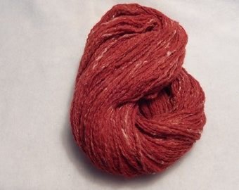 Handspun Yarn - Strawberries and Cream