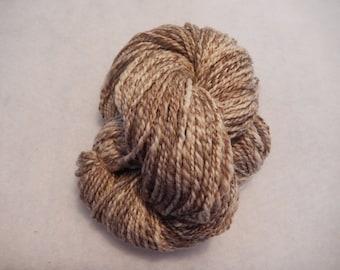 Handspun Yarn - Cafe au Lait