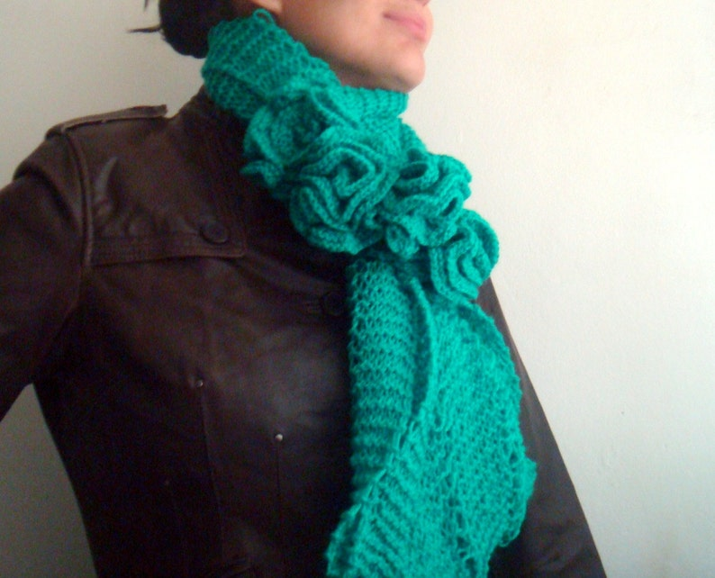 Infinity Scarf Pattern Knit Circle Scarf Pattern Snood Etsy