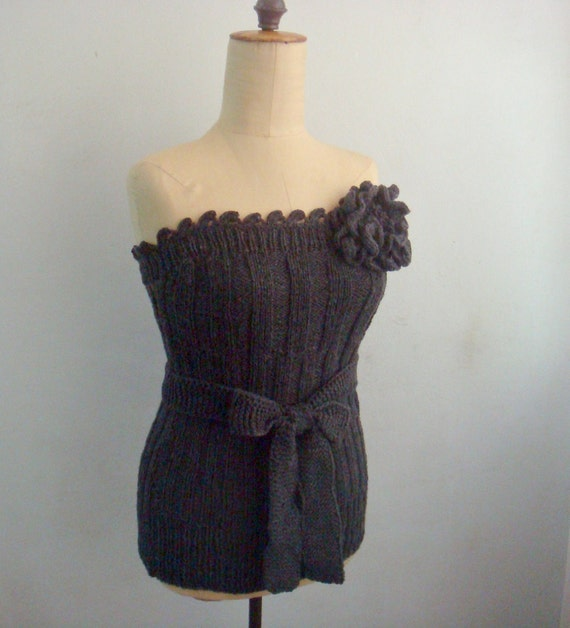 PATRONES que hacen punto y el Crocheting tejer corpiño corsé | Etsy