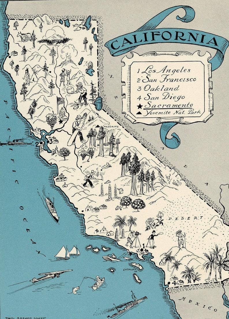 ORIGINAL 1931 California Map Vintage Picture Map - Antique Map Charming on la jolla beach san diego california, zip code map california, weather california, native american pomo tribe california, san andreas fault line map california, white castle locations california, population density map southern california, 3d topographic map california, 818 area code california, road map california, usa services california, map of california, route 66 detailed map california, golden gate bridge san francisco california, disneyland map california, area code map northern california, usa flag united states of america, world map california, road trip big sur california, usa flag california,