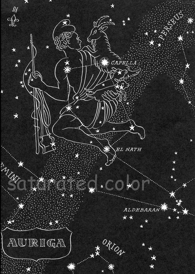 Lyra & Aquila Night Sky Star Chart Map Northern Stars | Etsy