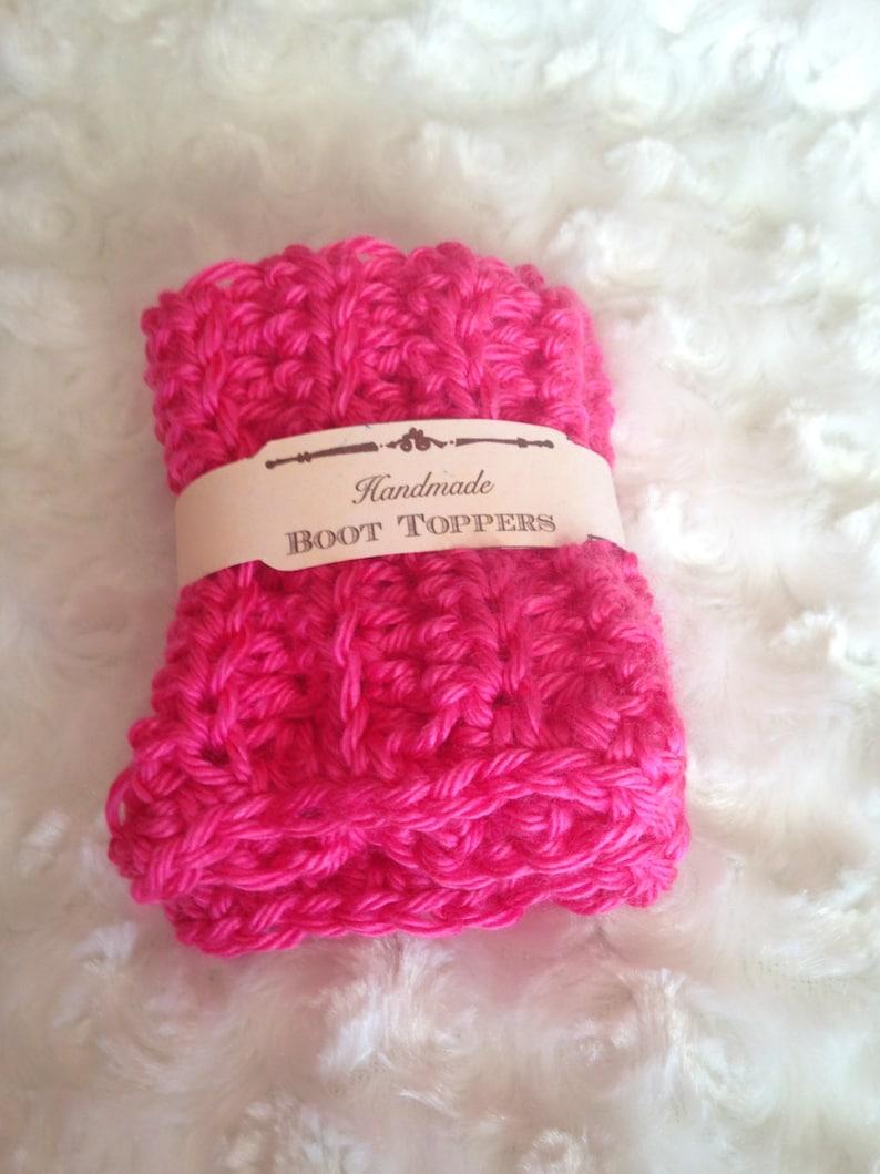 accessories pink boot cuff Girls Pink Boot Cuffs leg warmers Crochet boot cuffs boot toppers stocking stuffers fall fashion