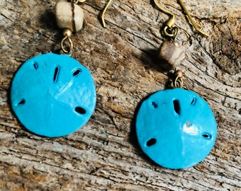 sanddollar earrings