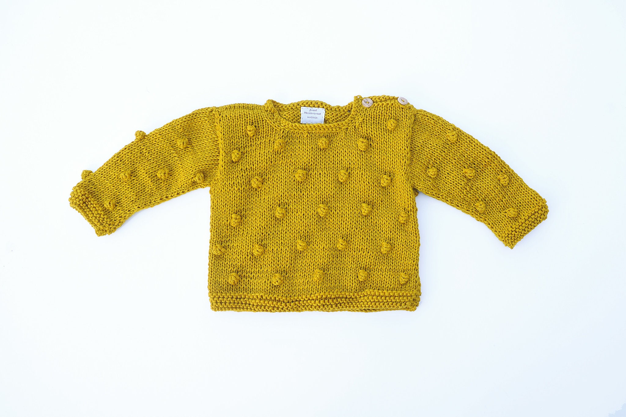 f03cb46350dc Childrens newborn baby toddler girls boys hand knitted Sweater