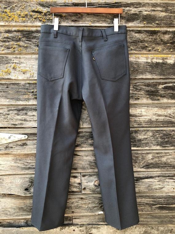 Vintage Levi's pants 34 Sta-Prest Levis 517 grey t