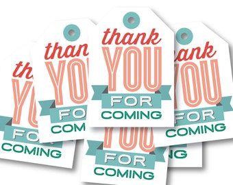 Favor Tags for Your Birthday Party // FARMER'S MARKET