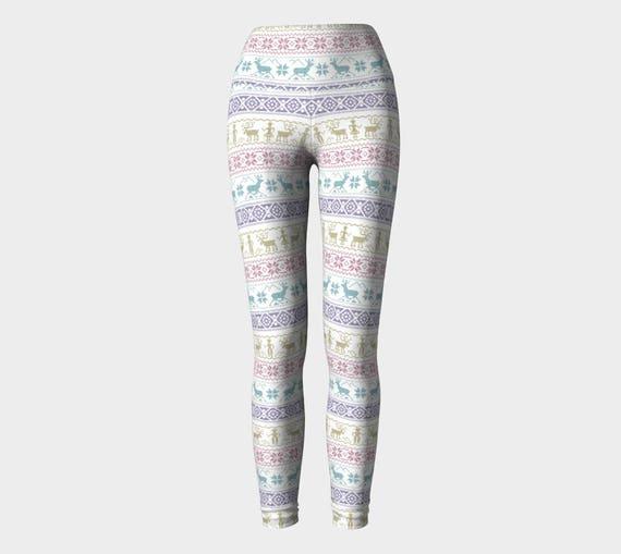 Ugly Sweater Christmas Yoga Pants