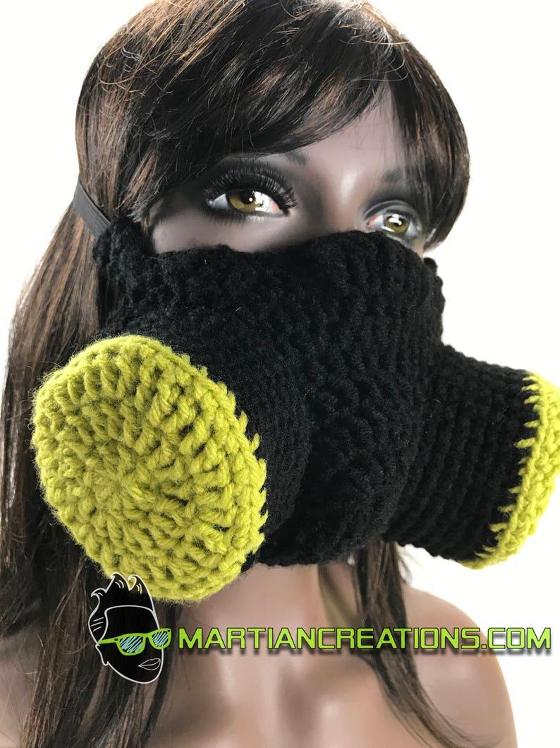 Crochet Post Apocalyptic Gasmask image 0