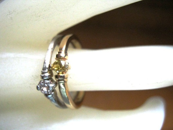 Pink Champagne Diamond Ring Natural 20pt SI octagon Affordable engagement fine jewelry handmade sterling silver custom size 4 5 6 7 8 9 10