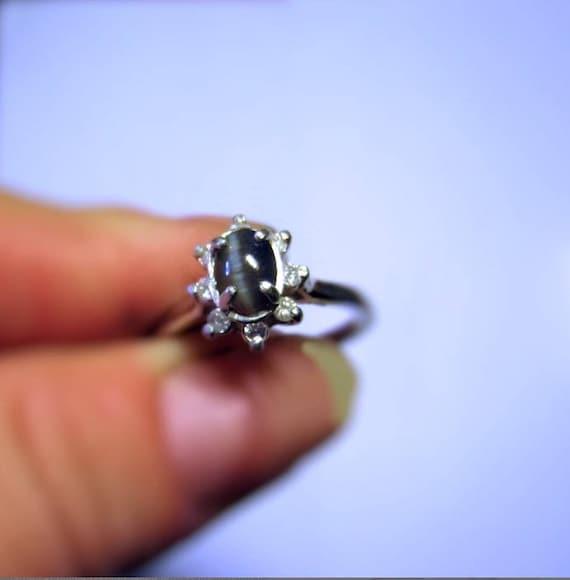 Genuine Rare Alexandrite Catseye Ring Green to Blue Sterling Silver Handmade 14k yellow white topaz gold size 4 5 6 7 8 9 10 Fine Jewelry