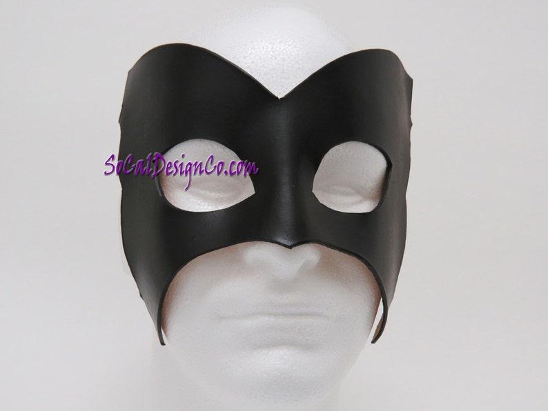 Black Mens Masquerade Mask Masquerade Mask Halloween Mask Leather Mask Leather Masks \u2013 Venetian Mask \u2013 Black Leather Mask