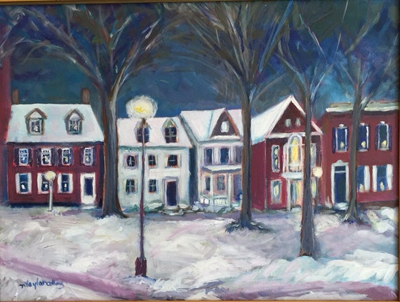 Art Paintings Of Delaware Locations