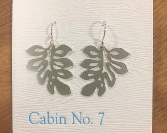 Hawaii Leaf Earrings
