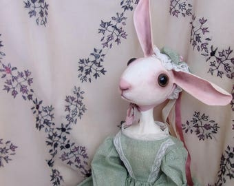 Madeline Harress, original cloth and clay art doll