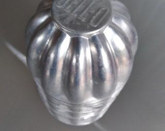Aluminum Jello Brand Jello Molds, Set of 11, Vintage Kitchen, Fun Funky Jello Molds for Individual Desserts, Jello Logo