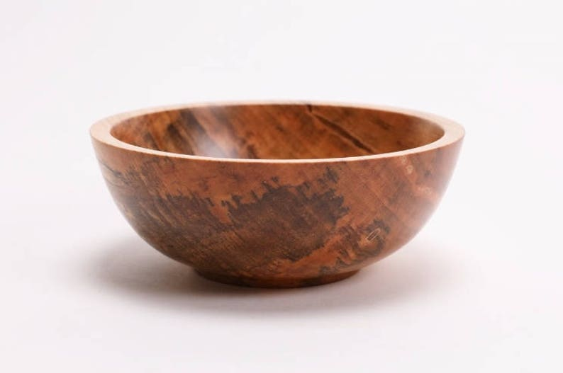 Spalted Maple Wooden Bowl #1740  6 X 2 14  wooden bowls bowl Christmas gift wedding maple bowl spalted maple bowl wood bowls