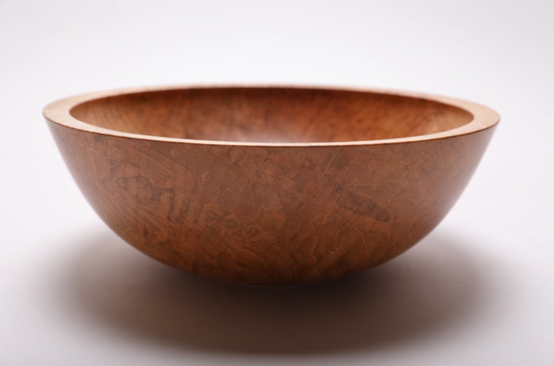 Fiddleback Maple Wooden Bowl  #1938  9 34 X 3 12  wooden bowls wood bowls wooden bowl wood bowl