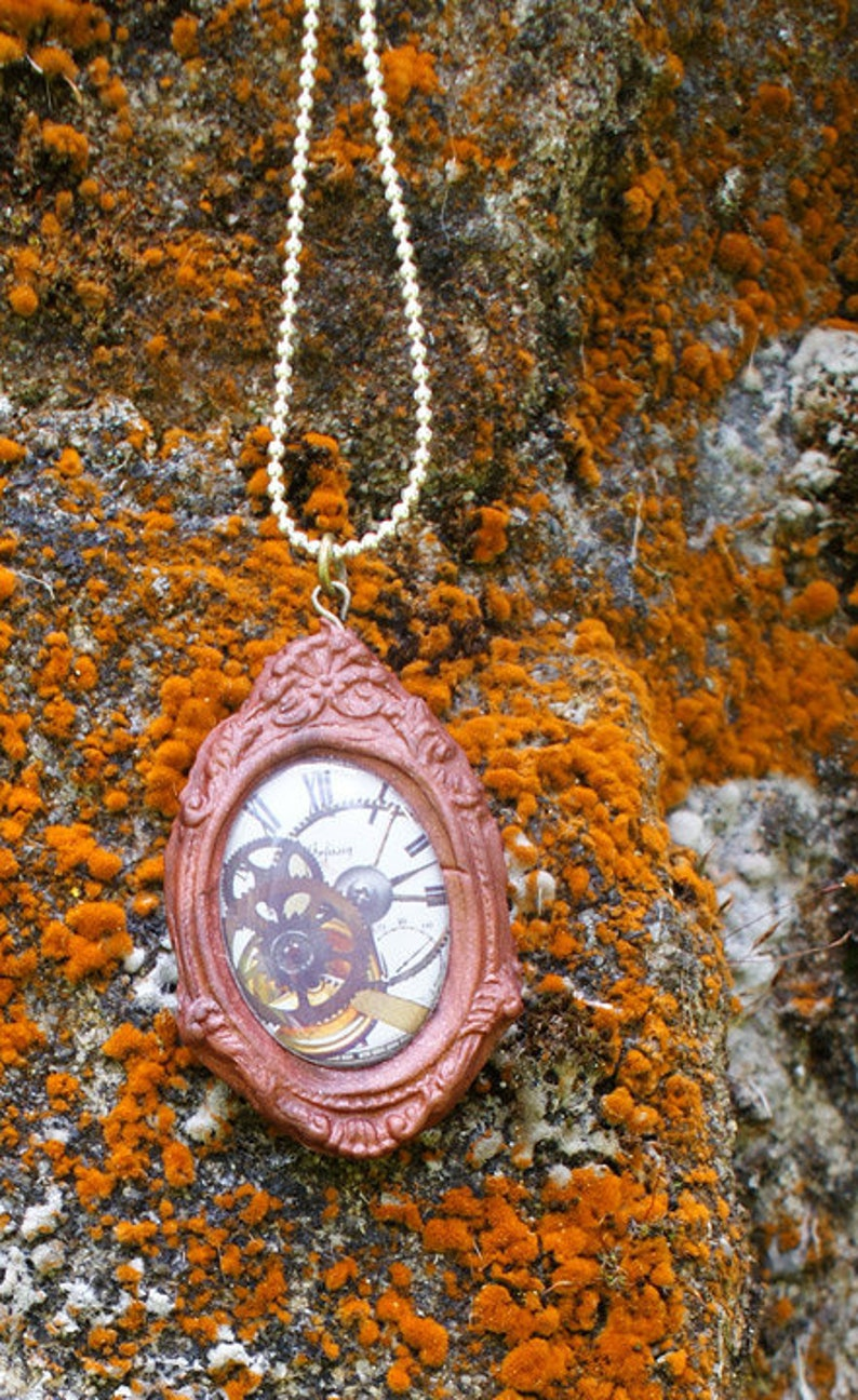 unisex necklace Steampunk Jewelery Steampunk clock necklace unisex jewellery steampunk necklace,christmas gift,stocking filter