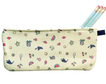 Juicy Fruits Pencil Case - Zippered Pouch