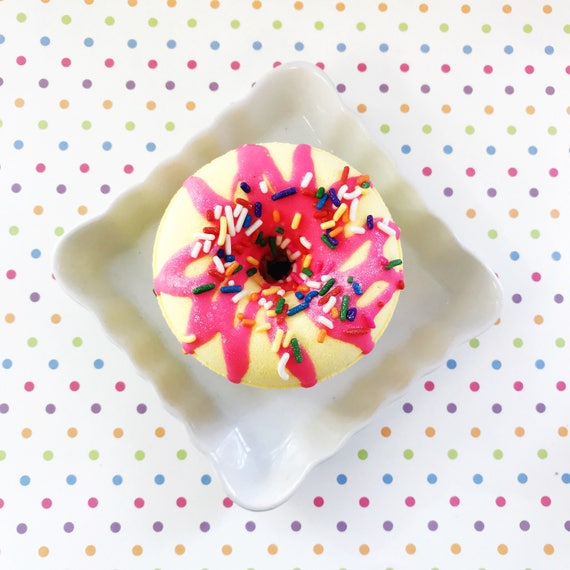 Birthday Cake Doughnut Bath Bomb Gifts For Her Mothers