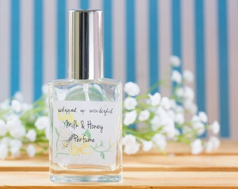 Milk and Honey Perfume | Best Friend Gift  Girlfriend Gift  Natural Bridesmaid Stress Anxiety Relief