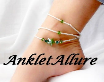 CRUISE Gift for Her STARFISH Anklets for Women Beaded Anklet Waterproof