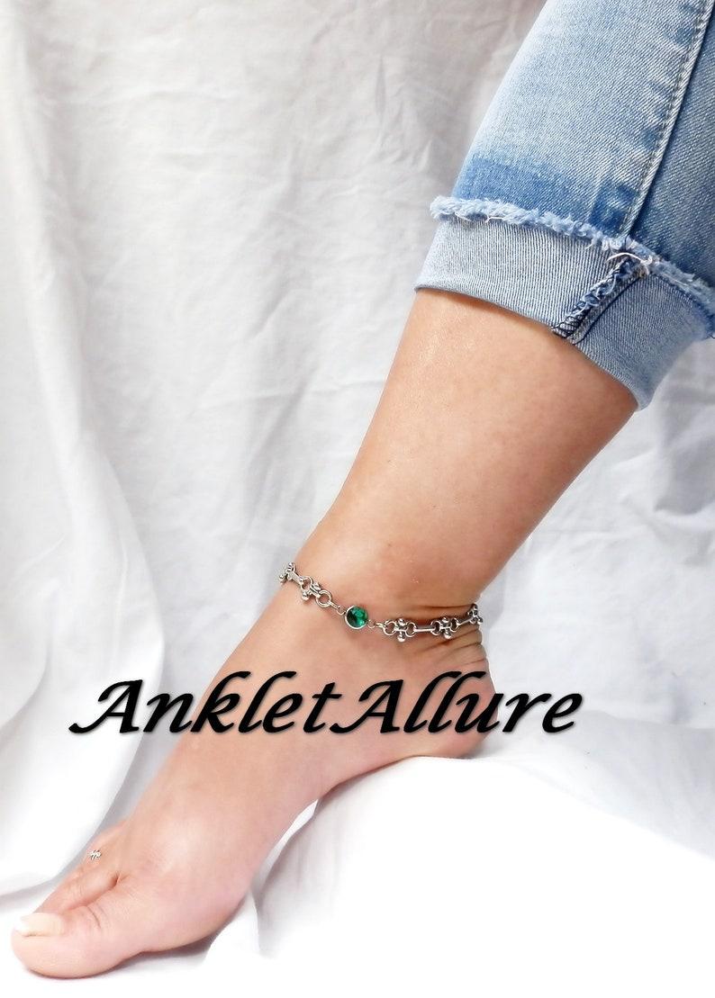 CHOKER RHINESTONE Anklet WATERPROOF AnkletS for Women