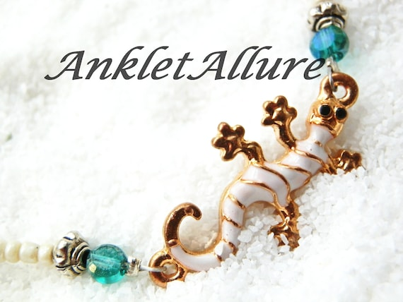 GECKO Anklet Beach Ankle Bracelet Cruise Anklets for Women  376180d7a