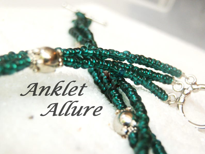TRIPLE Anklet Beach Anklets for Women VACATION GIFT