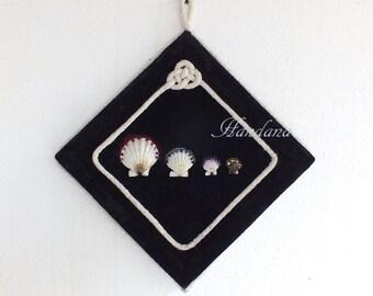 Wall decor Black Color, Interior Design, Wall art, Handmade Ornament, Wall Hanging Home Decoration Ornament