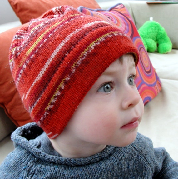 591f2abc550 KNITTING PATTERN Knit beanie pattern Chili Pepper Beanie Hat