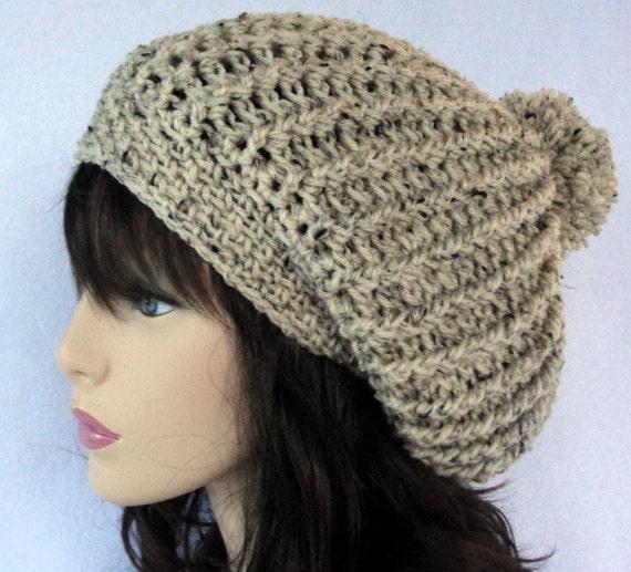 Crochet Slouchy Hat Pattern Crochet Slouchy Beanie Pattern Etsy