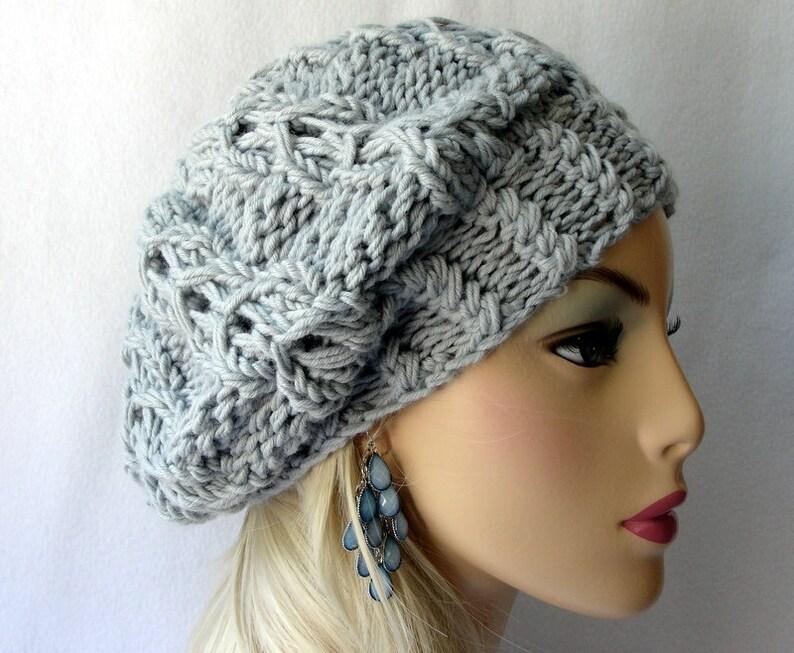 f459dce8db7 Knitting Hat Pattern Knit slouch beanie pattern Knit Celtic
