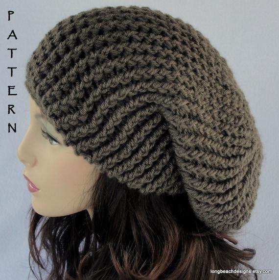 Crochet Hat Pattern All Sizes Toddler Child Adult Etsy
