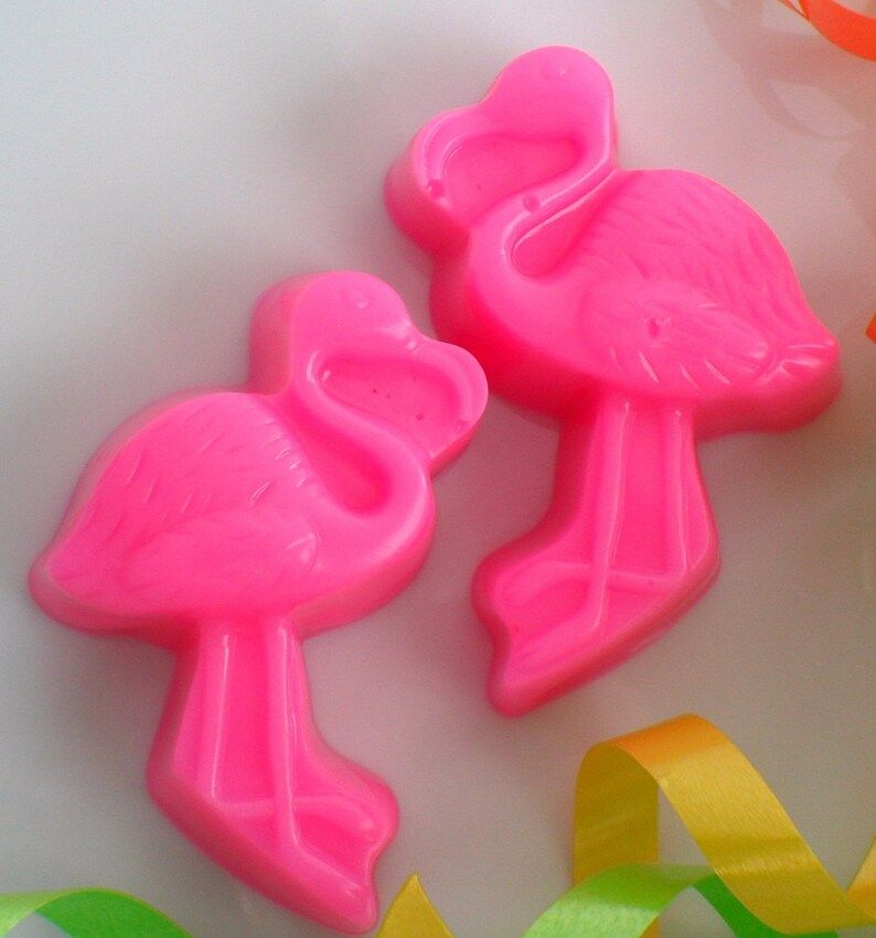 Flamingo Birthday Party Favors Bachelorette Party Girls Birthday Flamingo Soap Favors Party Favors Flamingo Bridal Shower