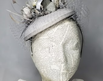 Silver/Gray Vintage Photography Fashion Hat (Volume Two)