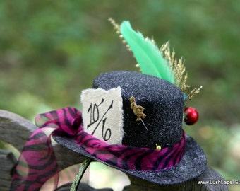 DIY Mad Hatter Mini Fascinator Kit - Easy Halloween Fun Alice Inspired
