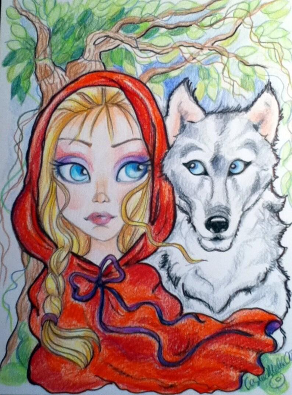 Aceo Big Eye Fantasy Fairytale Your Choice