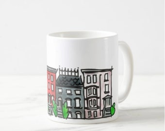 Brooklyn Town House Mug 05