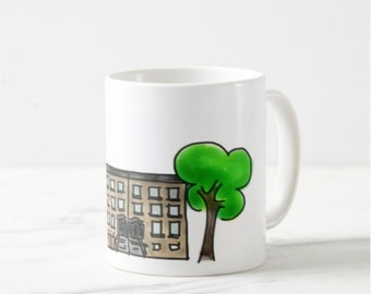 Brooklyn Town House Mug 04