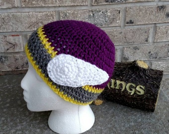 115b07414db promo code for minnesota vikings hat with horns d3e3a 4080c