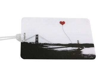 San Francisco Golden Gate Bridge Luggage Tag